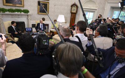 Між рядками зустрічі Зеленського у Білому домі